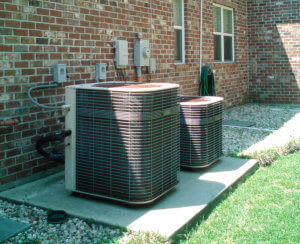 Install Heating and Cooling or Air Conditioning System