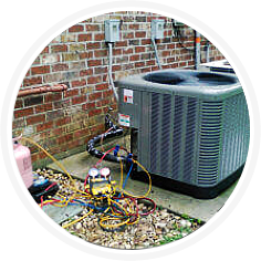 air conditioners back part
