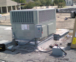 Installation of New High-Efficiency Units