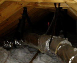 Attic Duct Repairs and Air Leaks