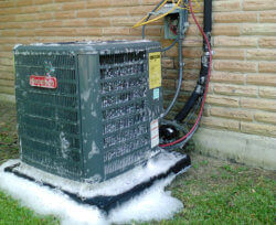 Condenser Unit cleaning