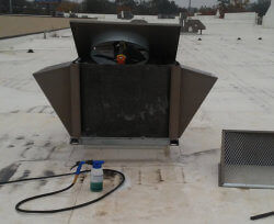 Evaporator Unit cleaning and installation